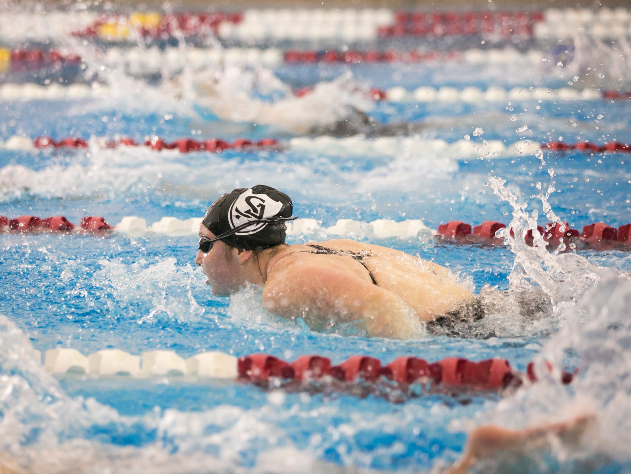 Salem Academy's Kiera Supple is a finalist for All-Mid-Valley girls swimmer of the year.