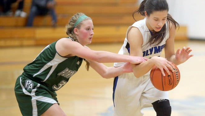 Olympic's Katie Campana will play at South Puget Sound Community College next season. Campana was the Sun's girls basketball player of the year this season.