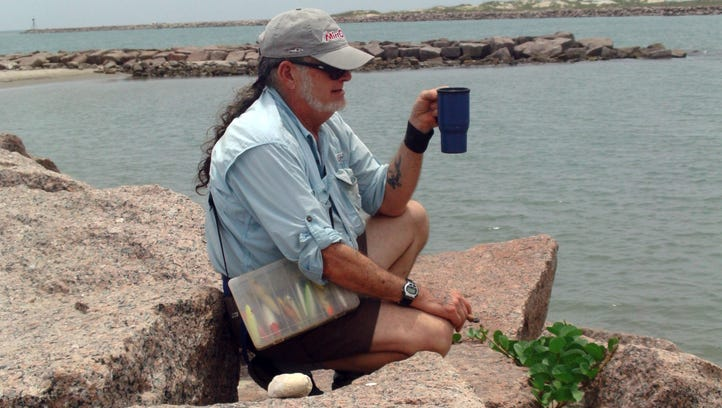 Did Billy Sandifer return to Padre Island for his own memorial service?