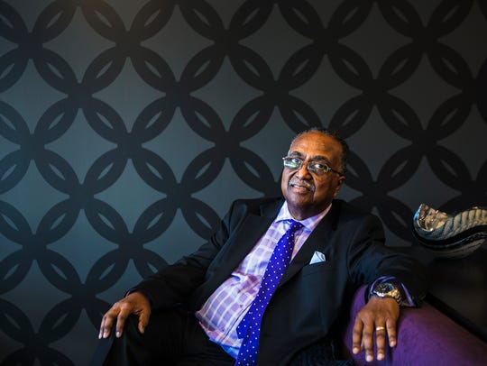 July 10, 2017 - Dr. Charles Steele, Jr. 70, is the
