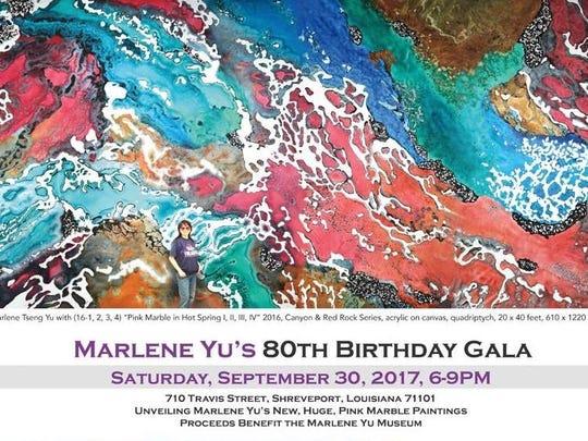 marlene Yu 80th