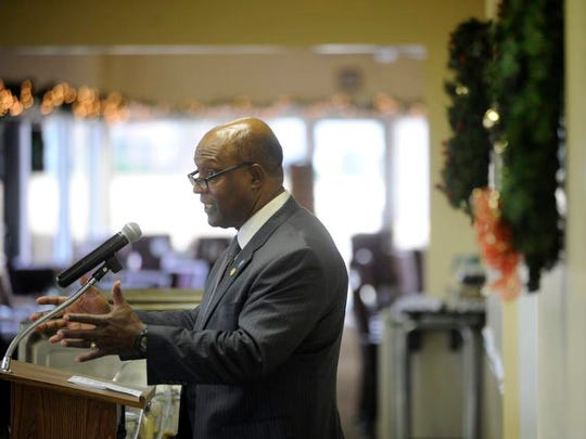 Willie Randall, a former Northampton County Board of Supervisor chairman, is challenging incumbent state Sen. Lynwood Lewis in the Democratic primary.