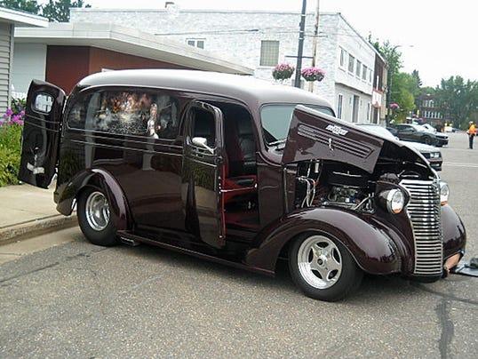 1938 Chevy panel truck