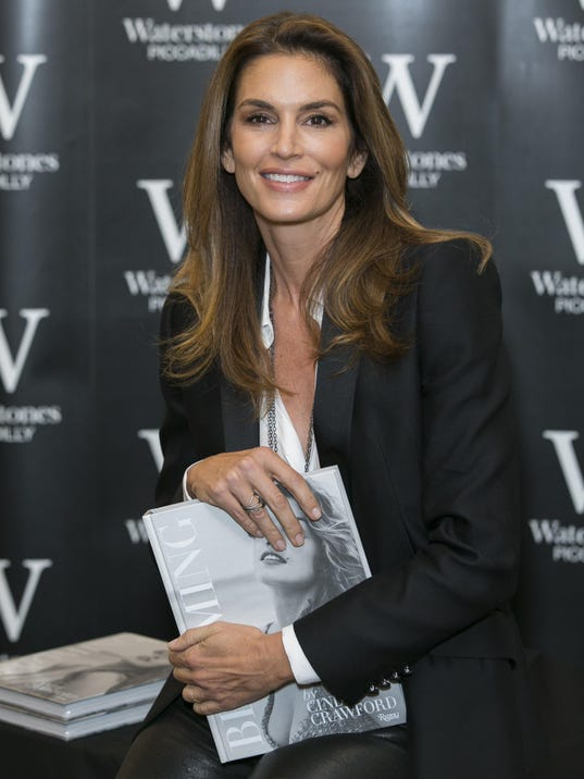 Cindy Crawford Book Signing