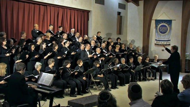 At the concert, the 60-voice Arcadian Chorale will focus on the work of Johannes Brahms and Robert Schumann.