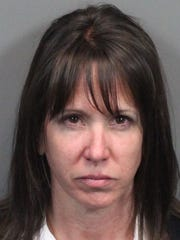 Kathleen Griffin was booked into the Washoe County Jail on April 28, 2016.