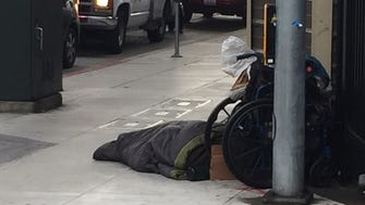 Homelessness is a visible problem in the San Francisco Bay Area.