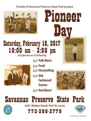 Pioneer Day Festival is coming to Savannas Preserve State Park.