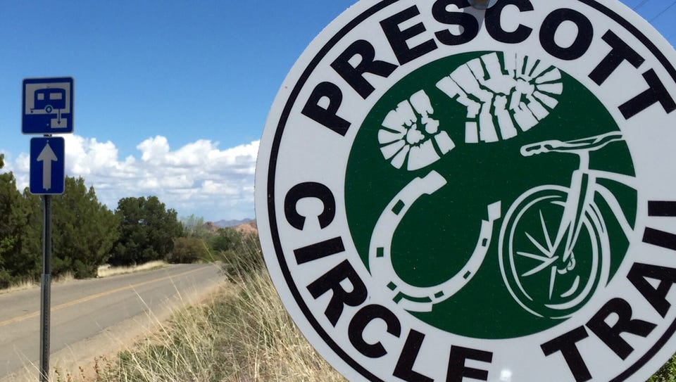 The Prescott Circle Trail, a 54-mile system of trails