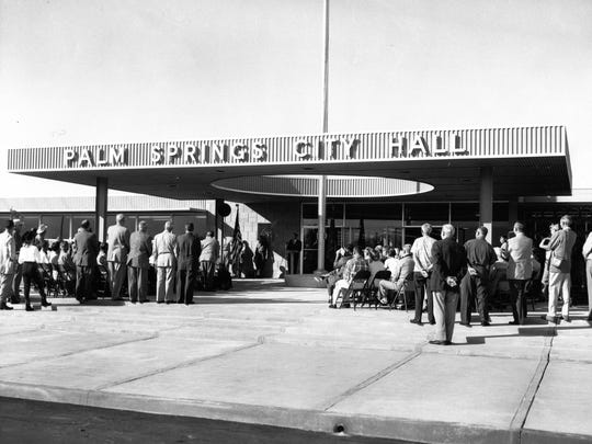 Palm Springs City Hall, dedicated in 1957.