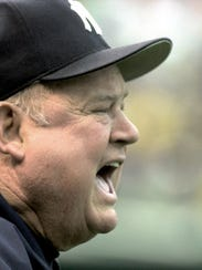 The New York Yankees' Don Zimmer, who once played