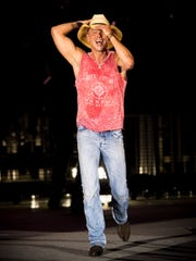 Kenny Chesney, who was performing a stadium show in
