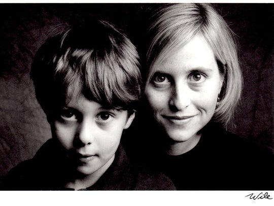 Mayor Megan Barry with Max as a young child.