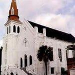 Mother Emanuel African Methodist Episcopal Church near downtown Charleston