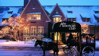 The American Club is a luxurious retreat in Kohler.