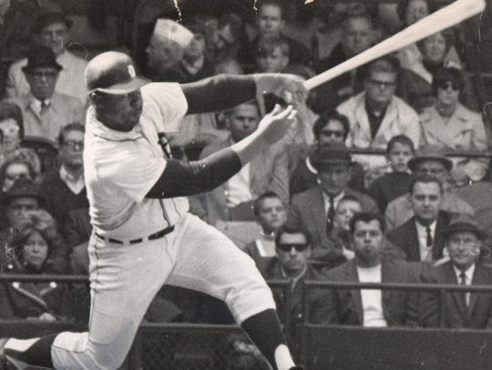 Willie Horton, shown during his Tigers career, hasn't
