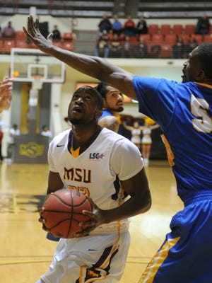 Midwestern State's Igor Ibaka had his 12th double-double of the season with 18 points and 13 rebounds, but the Mustangs lost 60-59 to the Texas A&M-Kingsville Javelinas Thursday night on the road.