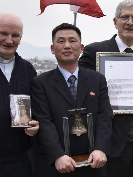 Italy Koreas Diplomatic in Hiding