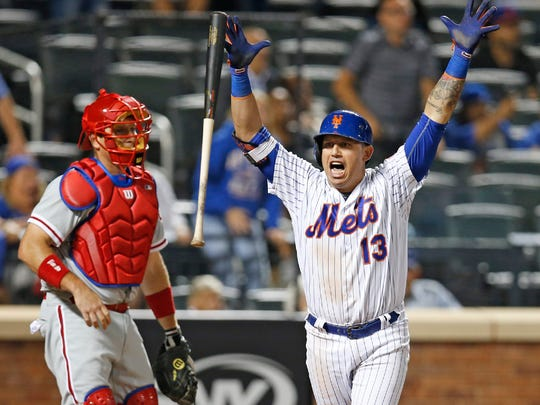 Asdrubal Cabrera hit 23 homers last season. His steady defense and hitting helped lead the Mets to the playoffs.