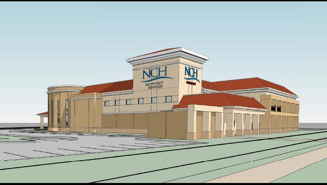 A rendering of the facility NCH has proposed in Estero.