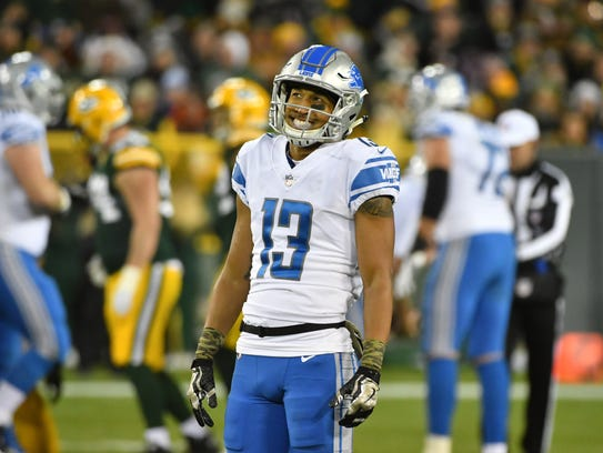 Lions receiver TJ Jones