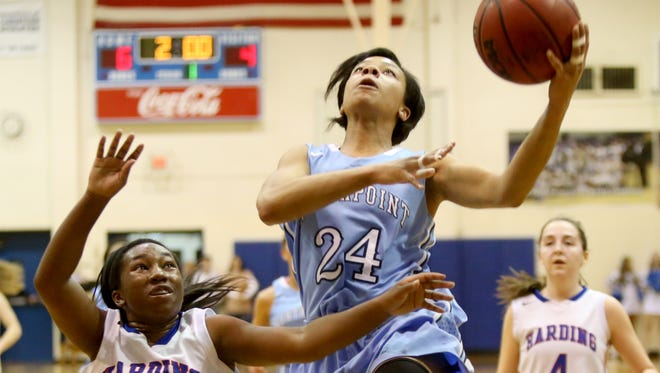 Jade Wells and Northpoint hold down the No. 9 spot in this week's Commercial Appeal girls basketball Dandy Dozen.