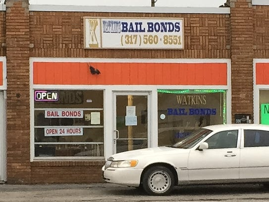 At Kevin Watkins' bail bonds business in the 6000 block