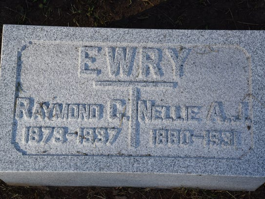 A new marker at Spring Vale Cemetery corrects the year
