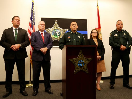 Lee County Sheriff's Office Undersheriff Carmine Marceno