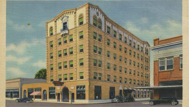 The Evangeline Hotel was built in 1929 by the Down Town Real Estate Corporation, according to acadianahistorical.org.