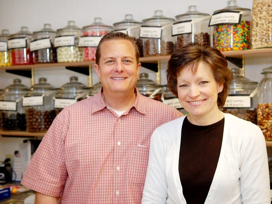 Allo! Chocolat, Co-Owners, Roger and Carrie Igielski