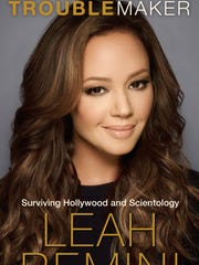 Cover of Leah Remini's anti-Scientology book, 'Troublemaker,'