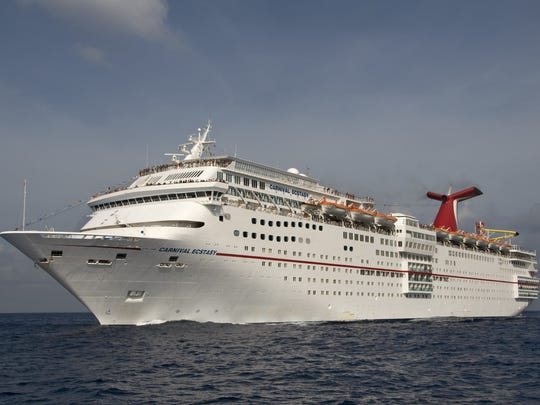 The Carnival Ecstasy was supposed to sail out of Jacksonville, Florida, on Thursday but the port closure has left the cruise up in the air.