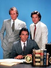 High-profile attorneys Arnie Becker (Corbin Bersen,