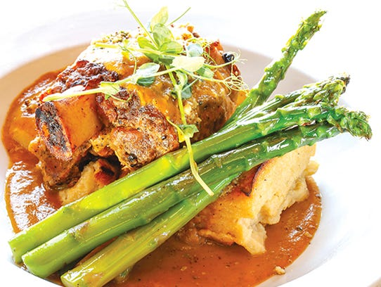 "The pork osso buco was ""unbelievably tender,"" our reviewers"