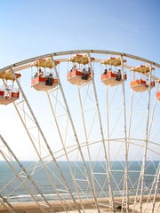 For the last five years, Breakfast in the Sky has been serving gourmet breakfasts to riders on a 156-foot-tall Ferris wheel — New Jersey's tallest — at Mariner's Landing on the Wildwood boardwalk.