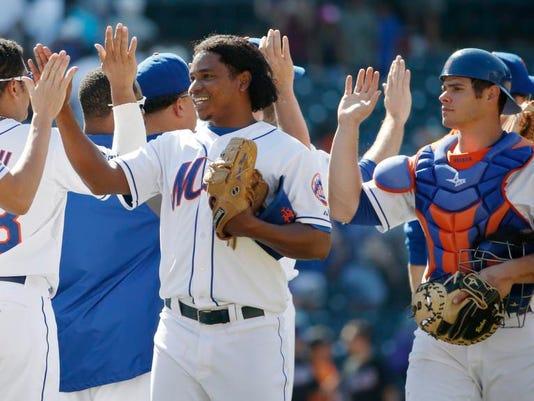 Rangers Mets Baseball
