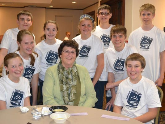 Mayor Karen Weitkunat joins students at Saint Joseph Catholic School for Ope.jpg
