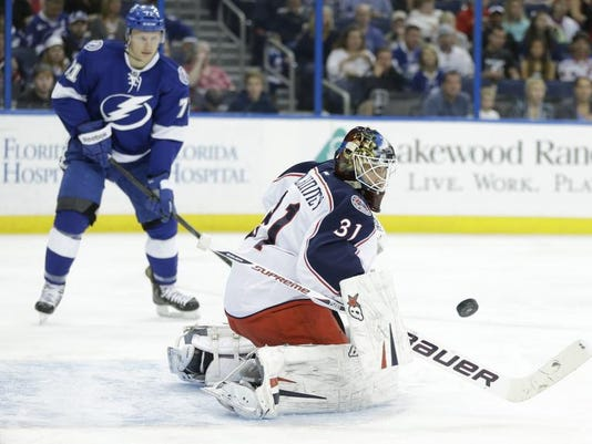Blue Jackets Lightning Hockey