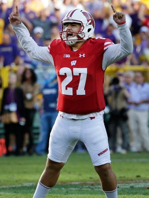 Rafael Gaglianone kicked the winning field goal for Wisconsin in the 2016 opener  but played only two more games before back problems cost him the rest of the season.