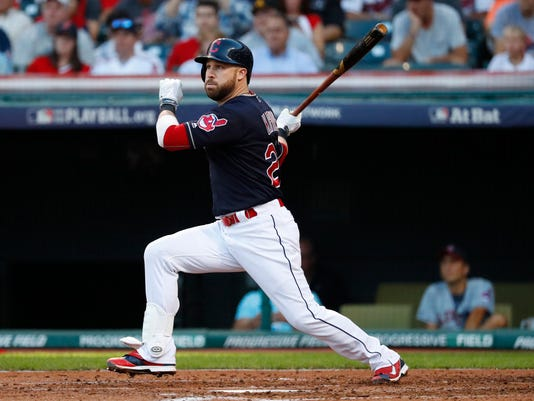 MLB: ALDS-Boston Red Sox at Cleveland Indians