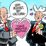 Marlette: Happy Valentine's Day, Roy Moore!