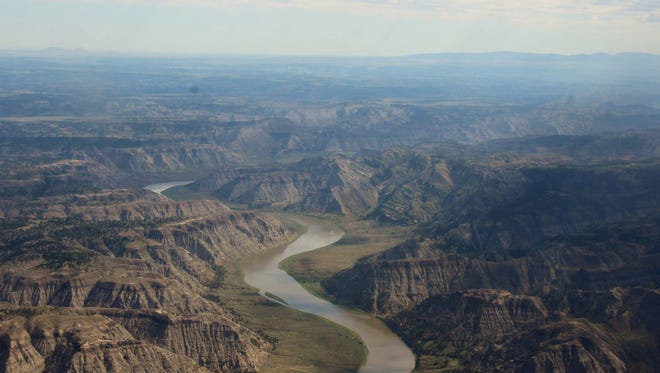 EcoFlight, a conservation-minded aviation company, piloted a trip over the Missouri River Breaks National Monument and American Prairie Reserve land holdings on July 12, 2018. The American Prairie Reserve is expanding their yurt system and adding a new campground for recreationists to use while exploring central Montana.