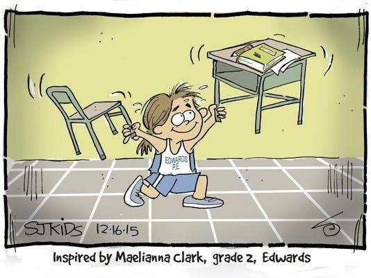 Maelianna Clark grade 2 Edwards