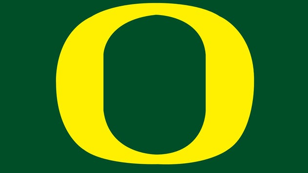 University of Oregon logo.