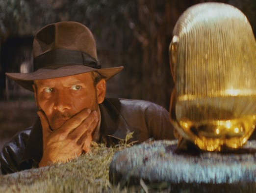 Harrison Ford is back as Indiana Jones with Steven