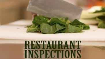 Restaurant inspections for the week of June 15