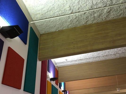 Cracks in RMS roof beams
