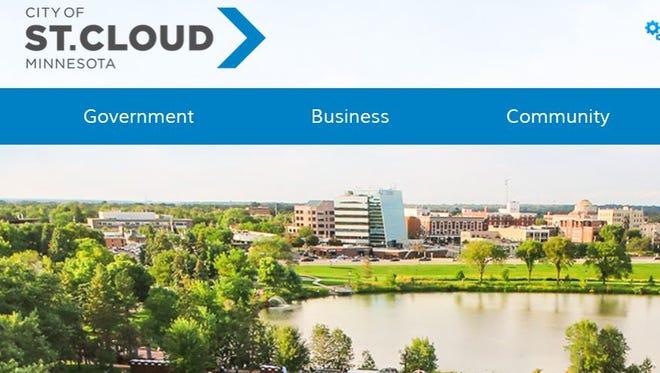 St. Cloud's new website.