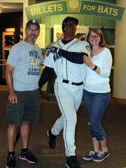 One of the stops was at the Louisville Slugger Museum